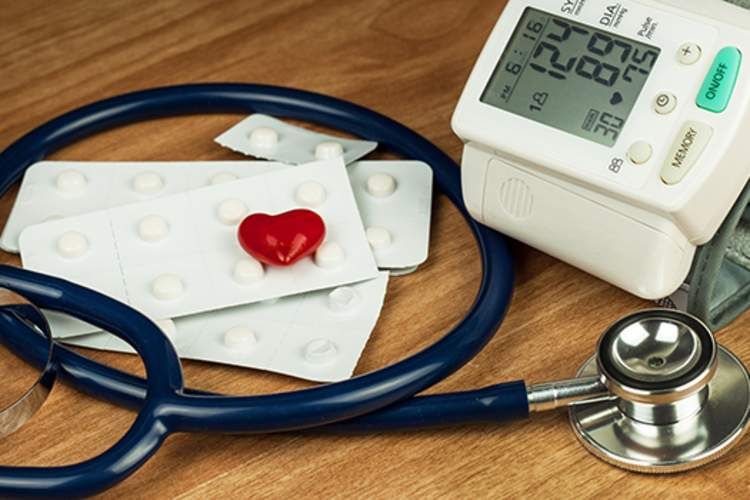Blood pressure device.