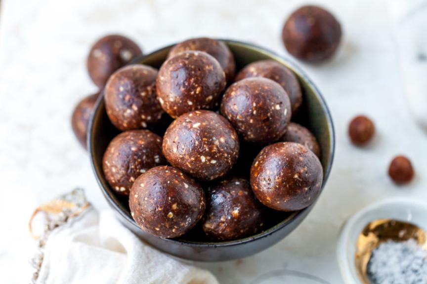 No-Bake Nutella Brownies Bites
