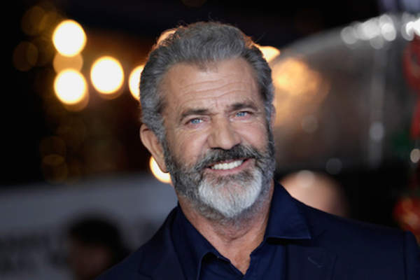 Actor Mel Gibson arrives at the UK Premiere of 'Daddy's Home 2' at Vue West End.
