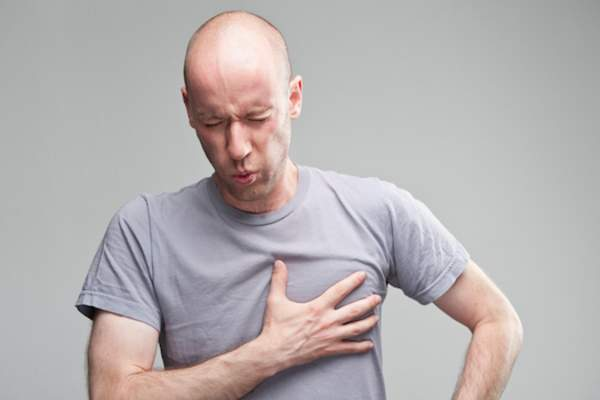 Acid reflux can cause chest pain similar to a heart attack.