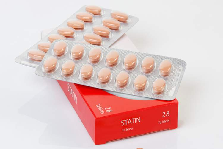 Cholesterol-lowering statin drugs.