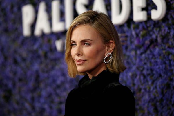 Charlize Theron attends Caruso's Palisades Village opening gala at Palisades Village on September 20, 2018.