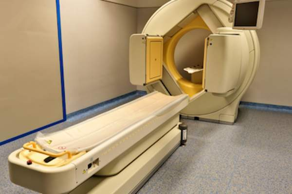 PET scan instrument.