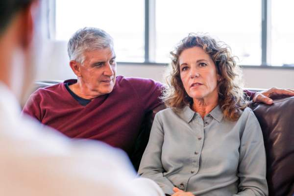 mature couples in therapy together
