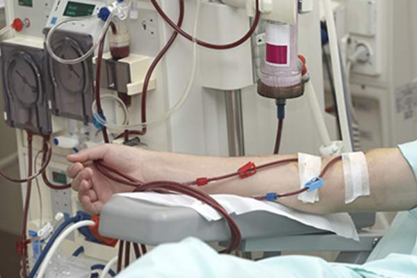 Dialysis treatment.