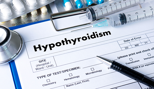 hypothyroidism test and treatment image