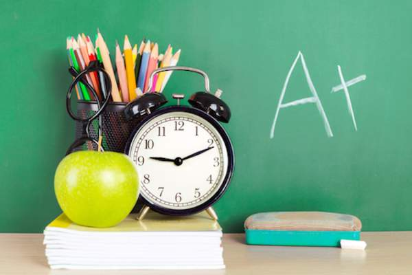 Good school start for time better grades.