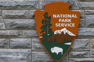 National Park Service sign.