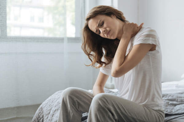General inflammation affecting sleep.