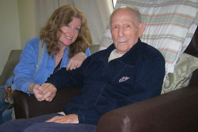 Barbara Drake and John Drake in 2012 image