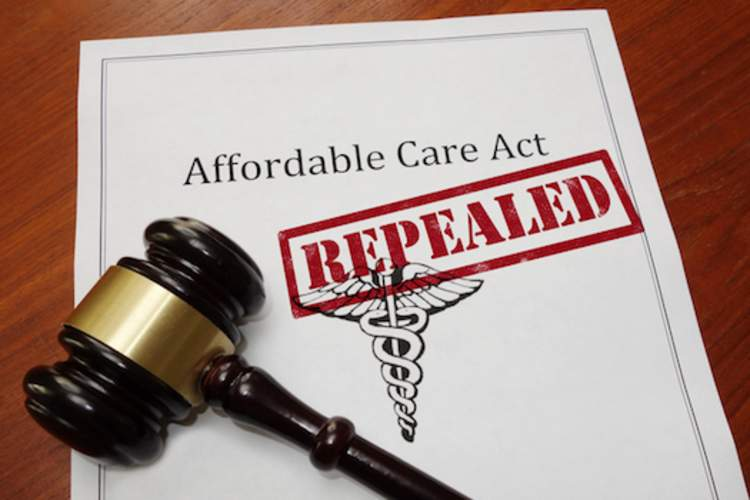 Affordable care act repeal concept