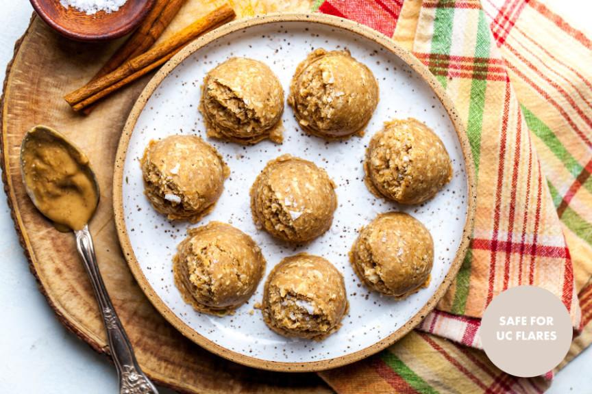 Peanut-Butter Cookie-Dough Bites