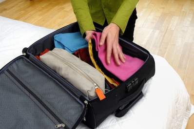 Pack your suitcase with things to help control chronic hives while traveling.