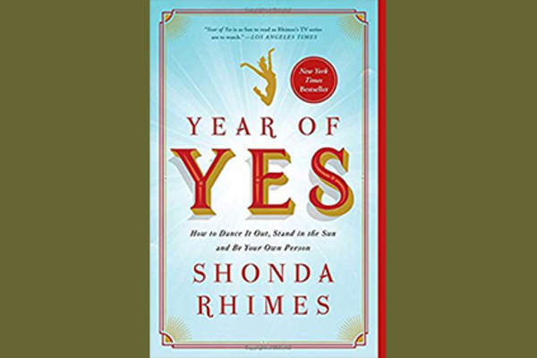 Year of Yes book cover.