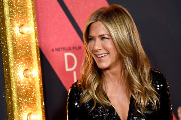 Jennifer Aniston arrives at the premiere of Netflix's 'Dumplin'' at the Chinese Theater on December 6, 2018.