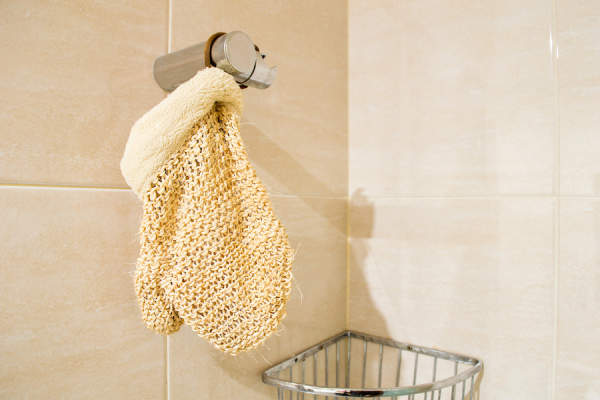 shower mitt