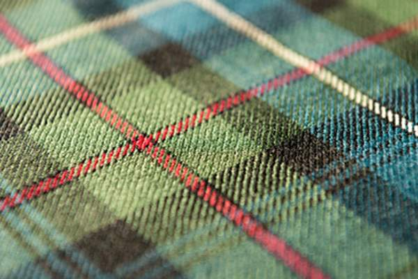 Flannel fabric.