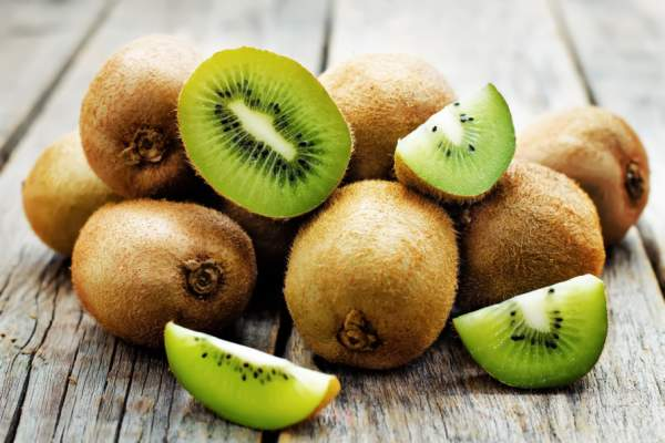 kiwis on table