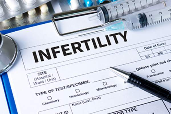 Infertility form.