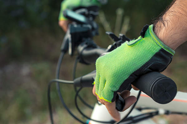 Bicycle gloves.