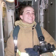 Kelsey Gumm during her time in the military.