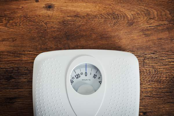 scale weight loss concept