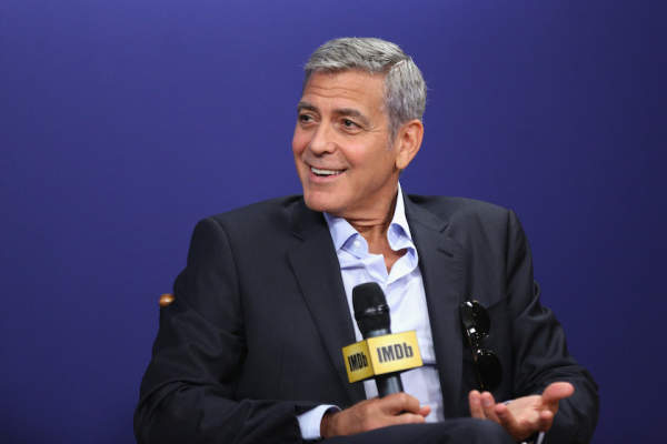 Director George Clooney of 'Suburbicon' attends The IMDb Studio.