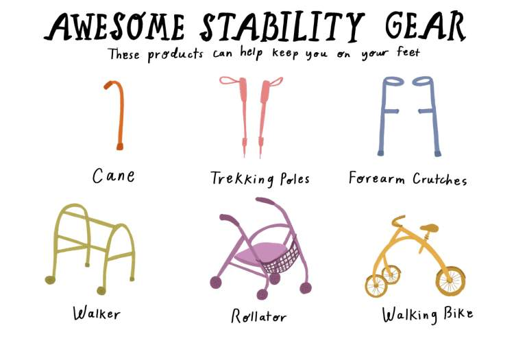 Awesome Stability Gear Infographic