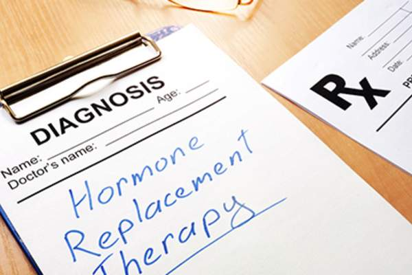 Hormone replacement therapy.