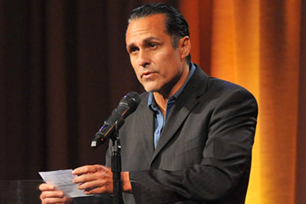 Actor Maurice Benard attends the 12th Annual Heller Awards at The Beverly Hilton Hotel.
