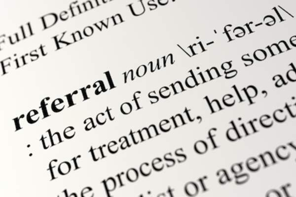 Referral definition.