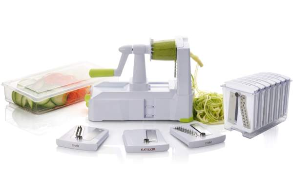 Briefton's 10-blade Spiralizer