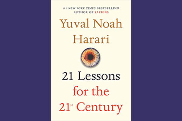 21 Lessons for the 21st Century book cover.