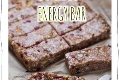 Superfood Energy Bar Recipe