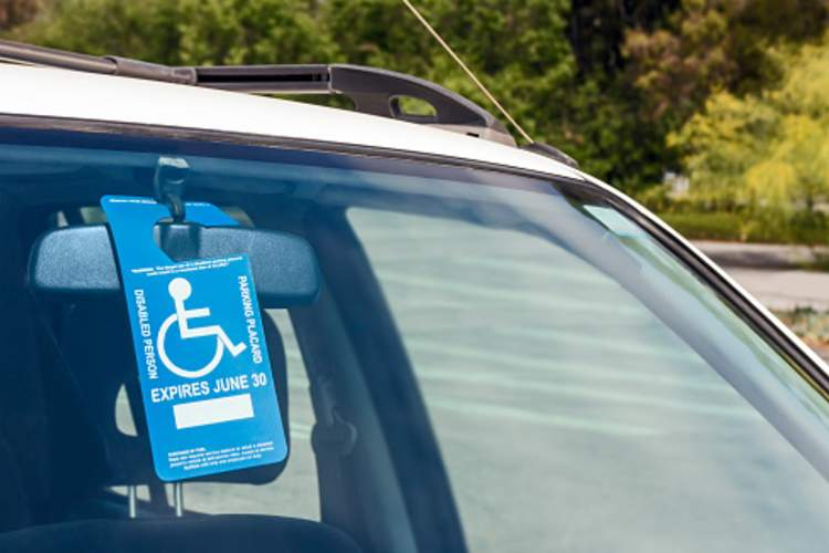 disabled parking pass image