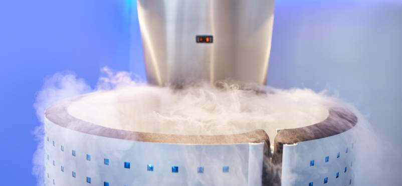 cryotherapy tank