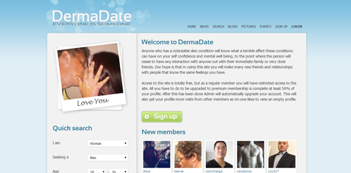 psoriasis dating website ionic dating app template