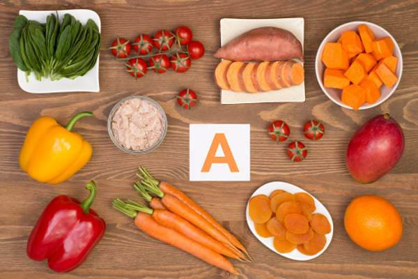 foods with vitamin a image