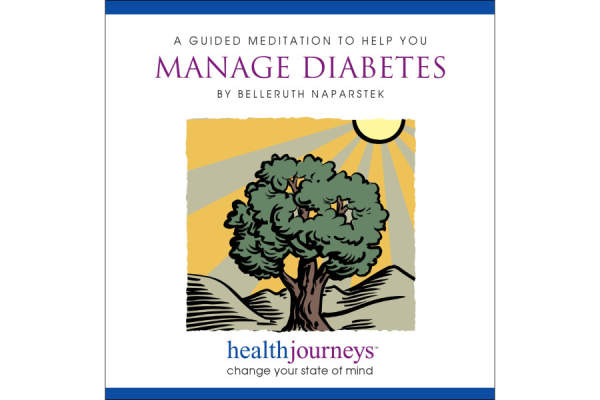 Manage Diabetes guided meditation disc