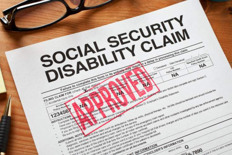 Social security disabilty approved claim.
