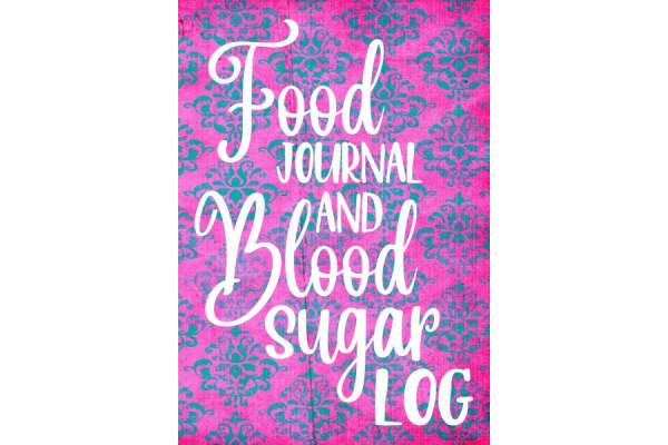 Dartan's colorful Food Journal and Blood Sugar Log