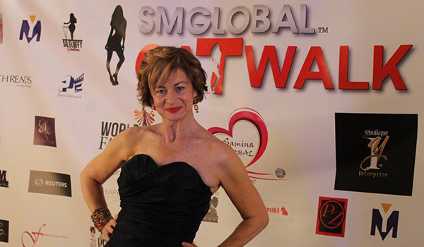 Rosanne Gialanella at SMGlobal Catwalk.