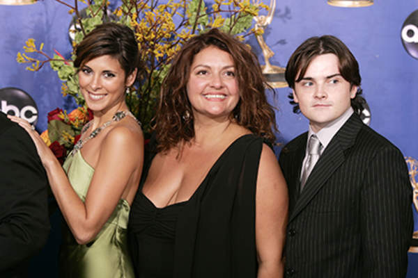 Aida Turturro and cast of the Sopranos.