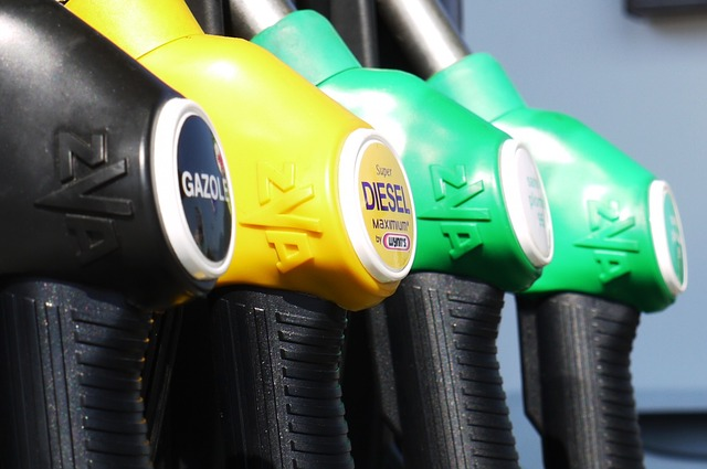 gasoline-perol pumps