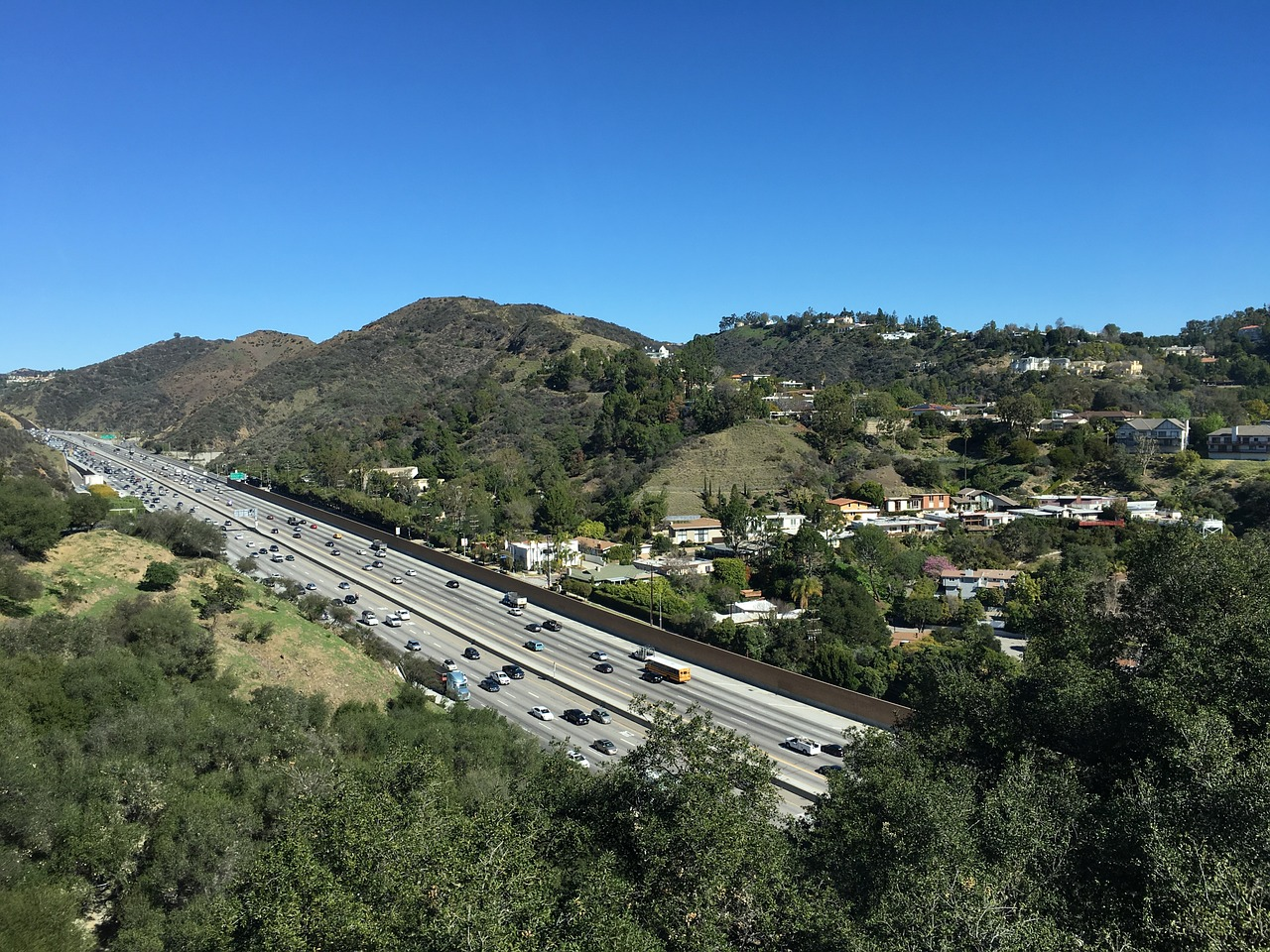 Los-angeles highway