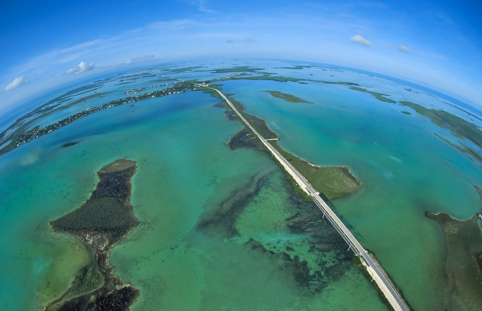 Overseas Highway 10 (Lower Keys Aerial - High Res) Credit Andy Newman