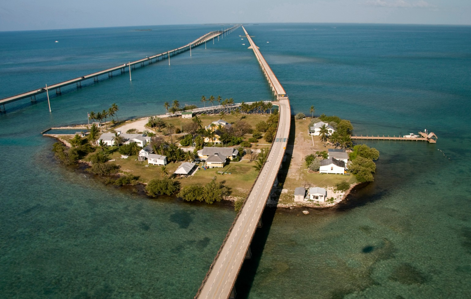 Overseas Highway 7 (at Pigeon Key, Marathon) Credit Andy Newman