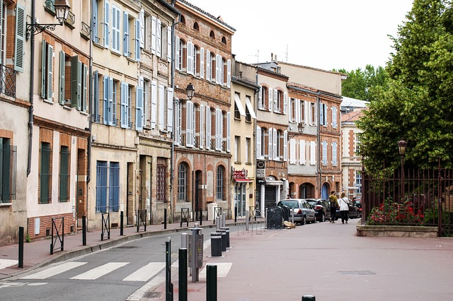 Toulouse street old town