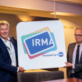 Thumb Bart Jacobs and Roelof Meijer with IRMA logo