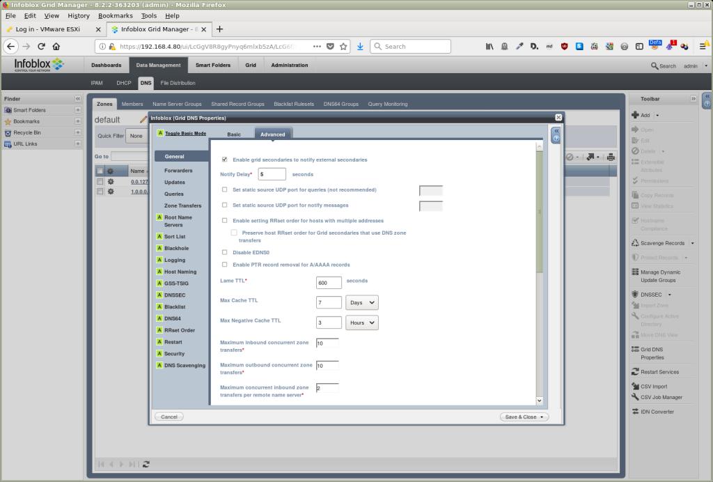 DNSSEC validation on an Infoblox appliance | SIDN